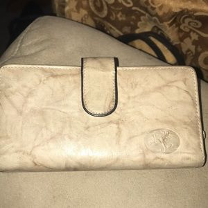 BUXTON, Taupe, Checkbook Wallet